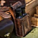 Bushcraft kožené pouzdro na olej 100ml