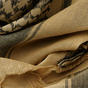 Šátek Palestina Shemag Khaki-Černý