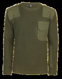 Brandit svetr BW Pullover - Oliv