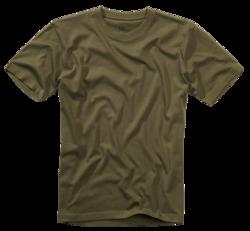 Pánské triko Brandit - olivové