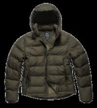 Bunda Vintage Industries Rhys jacket - Olivová tmavá