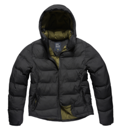 Bunda Vintage Industries Rhys jacket - Černá