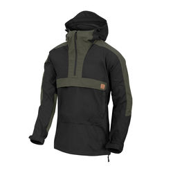 Helikon Woodsman Anorak Bushcraft - Black/Taiga Green