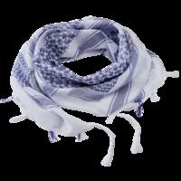 Šátek Palestina Shemag Modro-bílý