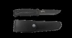 Morakniv nůž Garberg Black (C) Carbon Leather Sheath