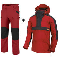 WOODSMAN ANORAK + OUTDOOR TACTICAL - Helikon RED set