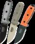 Nůž ESEE-3-PM-MB Molle pouzdro