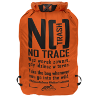 Voděodolný vak na odpadky Helikon DIRT BAG 10l Orange
