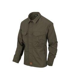 Helikon Woodsman Shirt Bushcraft - Taiga Green / Black
