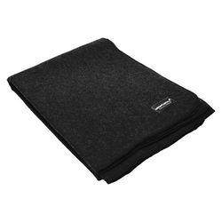 Vlněná deka (225 x 150 CM) - Ocelově šedá
