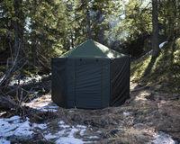 Savotta Hiisi 4 finská stanová sauna s kamny