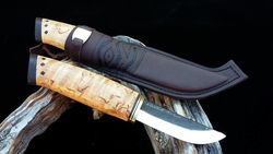 WoodsKnife Hunter knife puukko 90mm