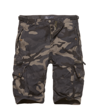 Kraťasy Vintage Industries Gandor shorts - dark camo