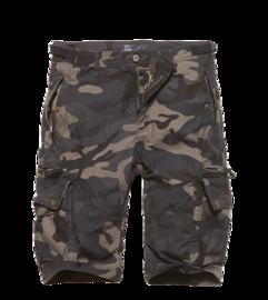 Kraťasy Vintage Industries Gandor shorts - dark camo