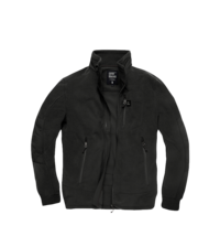 Fleecová mikina Tour Polar Jacket Vintage Industries - Black