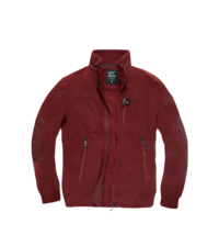 Fleecová mikina Tour Polar Jacket Vintage Industries - Burgundy