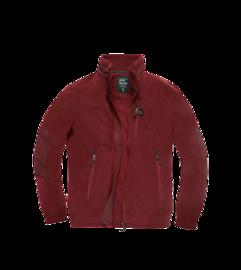 Fleecová mikina Tour Polar Jacket Vintage Industries - Burgundy