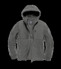 Fleecová mikina Landell Polar Fleece jacket Vintage Industries - Stone