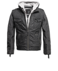 Black Rock Hooded Leather šedá