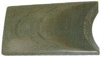 Micarta® CANVAS GREEN - 4,75x150x cca 480mm)