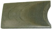 Micarta® CANVAS GREEN 6,35x150x cca 480mm)