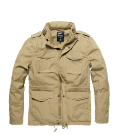 Bunda Vintage Industries Beyden Jacket - písková