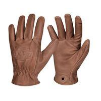 Kožené Bushcraft rukavice Helikon Lumber Gloves - Brown