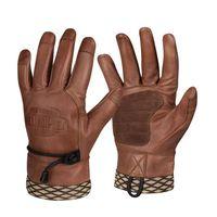Kožené rukavice Helikon Woodcrafter Gloves - Brown