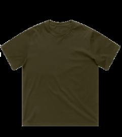 Tričko Heavyweight 240g - Olivové
