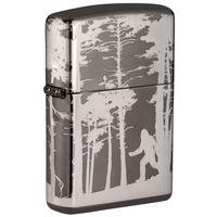 Zippo 25581 Squatchin' In The Woods Design