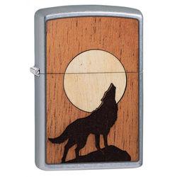 Zippo 25526 Woodchuck USA Howling Wolf