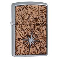 Zippo 25522 Woodchuck USA Compass