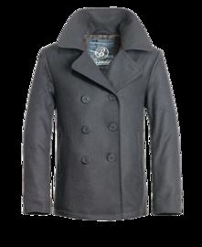 Kabát Brandit Pea Coat antracit