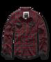 Brandit Checkshirt Duncan červeno hnědá