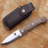 TBS Boar nerez zavírací nůž s pojistkou - Micarta